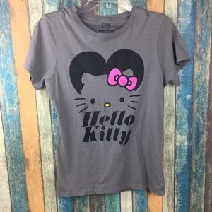 a4b697826 Hello Kitty. Hello Kitty Large Gray Graphic Tee Shirt